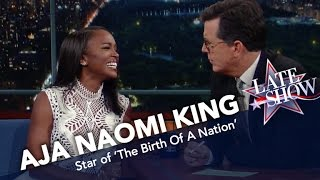 aja naomi king saved her fathers life in the california desert