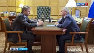 Парфенчиков провел в Москве ряд встреч с руководителями федеральных органов власти
