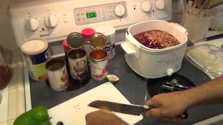 Crock Pot Chili - Easy Recipe