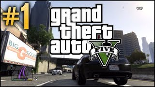 GTA V Free Roam - Part 1 - Welcome to Los Santos!