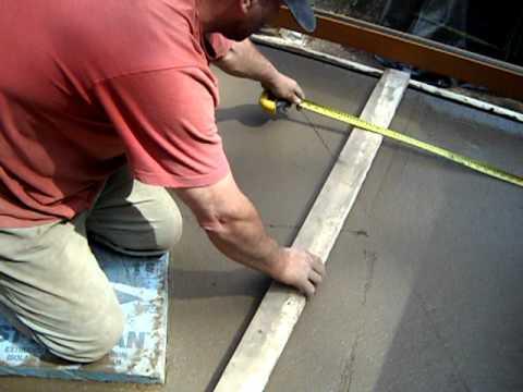 Poured concrete deck diy youtube poured concrete deck diy solutioingenieria Choice Image