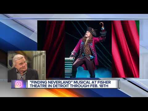 'Finding Neverland' musical at Fisher Theatre in Detroit through February 18