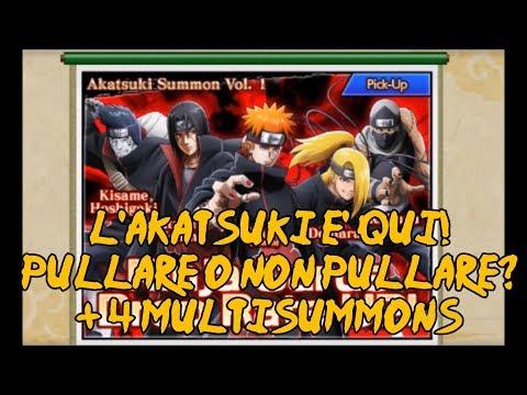 NARUTOxBORUTO Ninja Voltage - Nuova batch AKATSUKI + 2000 SHINOBITES DI MULTISUMMONS