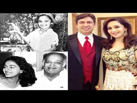 बचपन में ऐसी दिखती थीं Madhuri Dixit , तब से अब तक || Watch