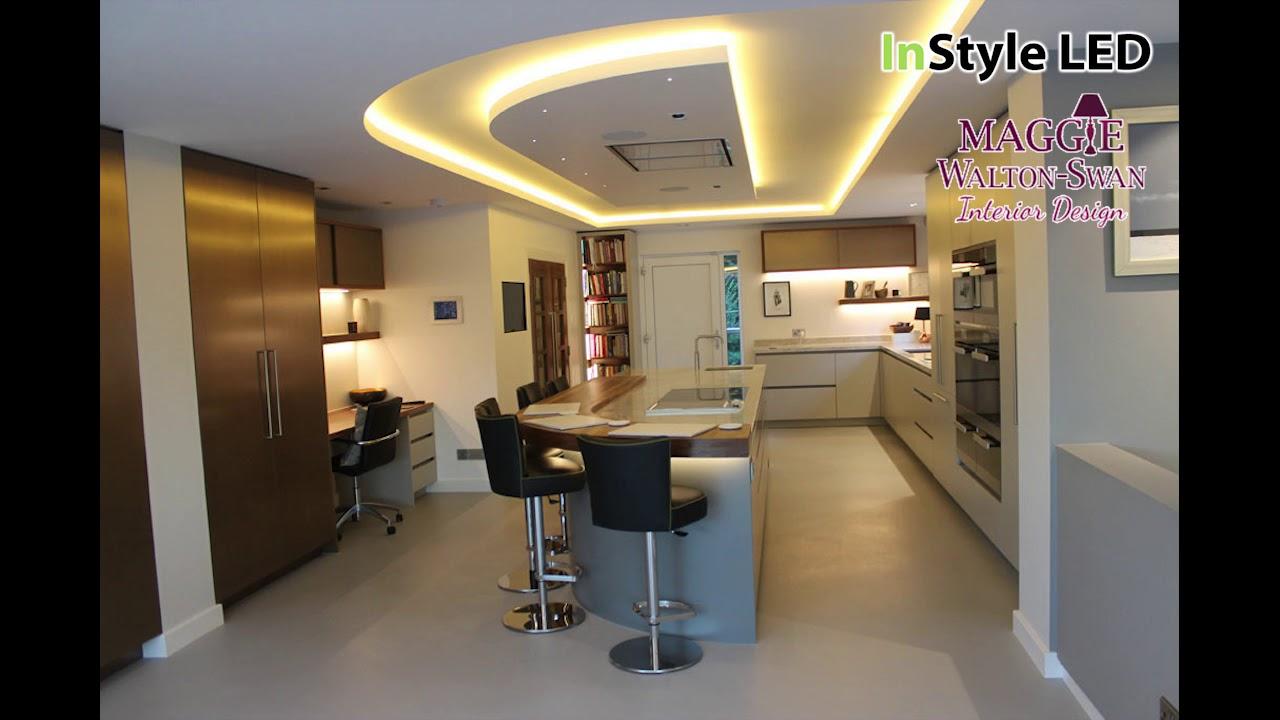 Warm white LED Strip Lights u0026 smart home automation & Warm white LED Strip Lights u0026 smart home automation - YouTube