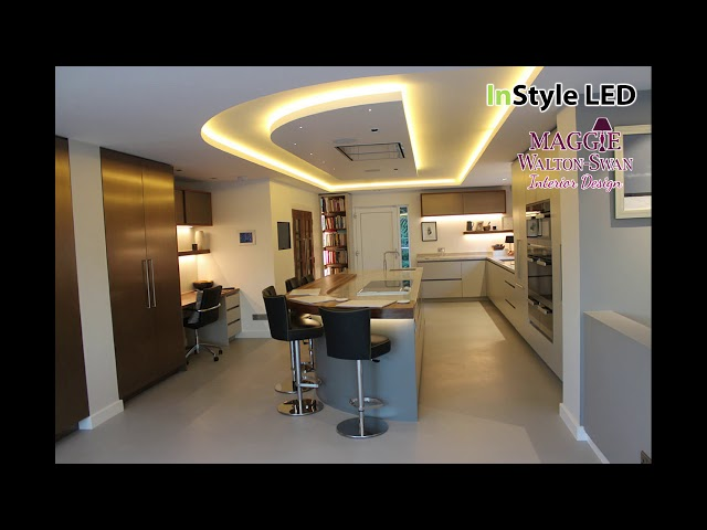 Warm white LED Strip Lights & smart home automation