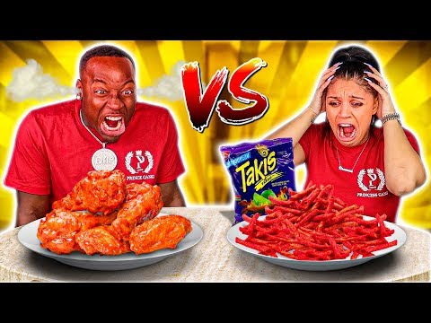 SPICY VS EXTREME SPICY FOOD CHALLENGE from YouTube · Duration:  29 minutes 30 seconds
