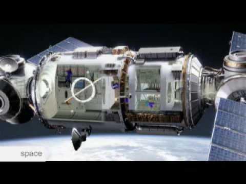 Space - Un voyage spatial vers Mars en simulation
