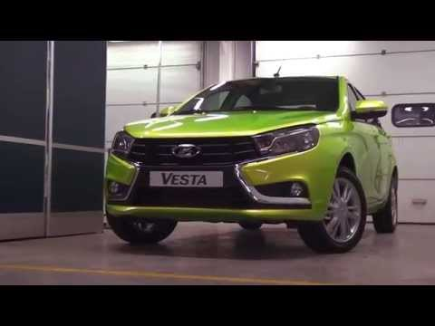 Презентация Lada Vesta в Воронеже в автосалоне Lada на Остужева (Боравто)