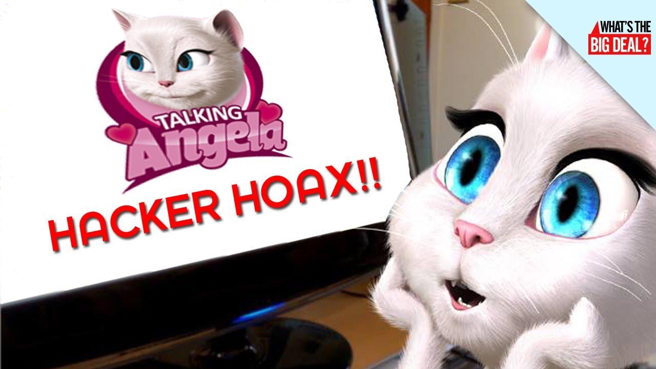 Talking Angela Hacker