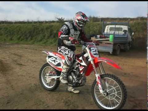 entrainement moto cross guisseny honda crf 250 2010 youtube. Black Bedroom Furniture Sets. Home Design Ideas