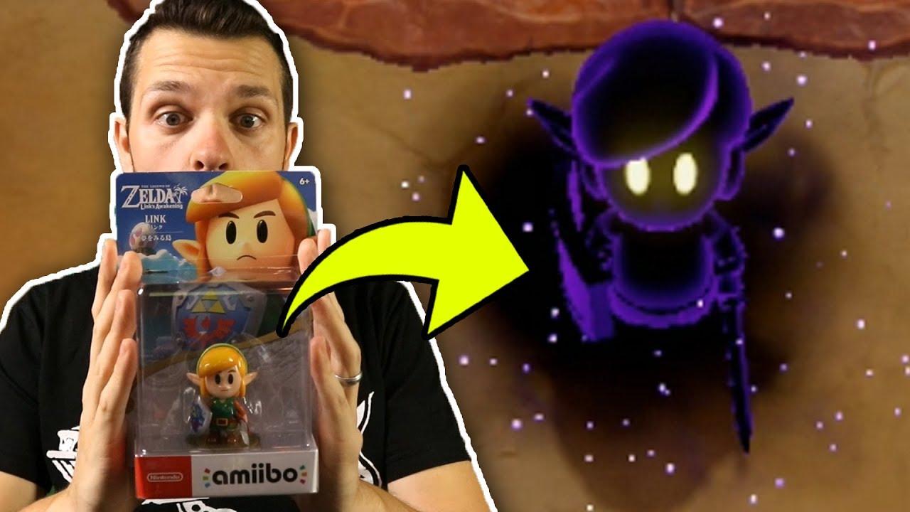 Shadow Link Link S Awakening Amiibo Unboxing Functionality Nintendo Switch