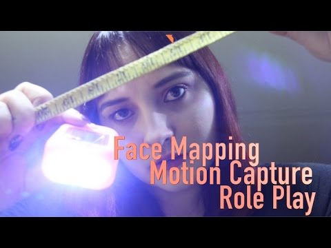 ASMR Face Mapping || Motion Capture Role Play 🎥