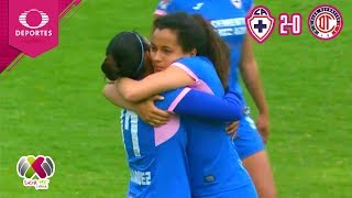 Resumen | Cruz Azul 2 - 0 Toluca | Liga MX Femenil - J13 | Televisa Deportes