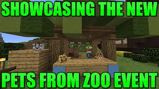 Showcasing The New Pets From Zoo Event | Hypixel SkyBlock