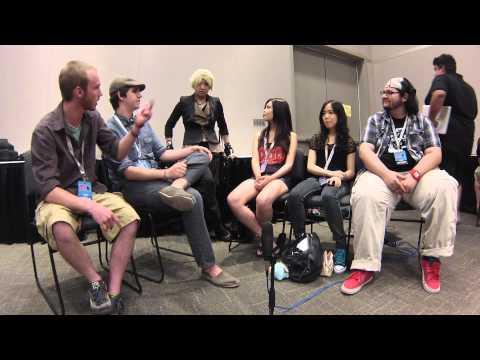 DotsCast Interviews RWBY Artists (ft. Monty Oum) Part 1