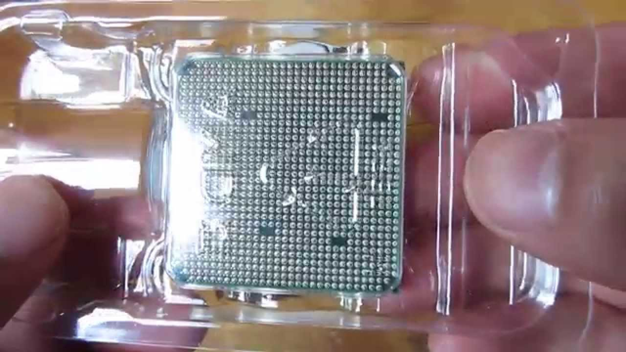 Amd Fx 6300 Vishera 6 Core 3 5ghz Black Edition Unboxing Youtube
