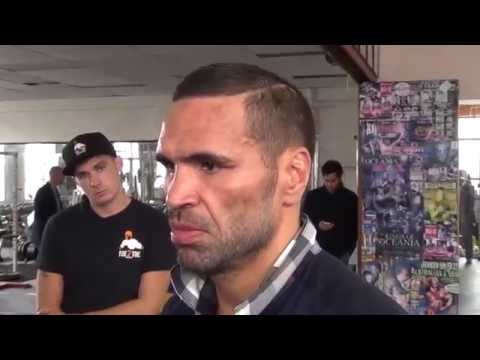 Anthony Mundine connects with Native Americans