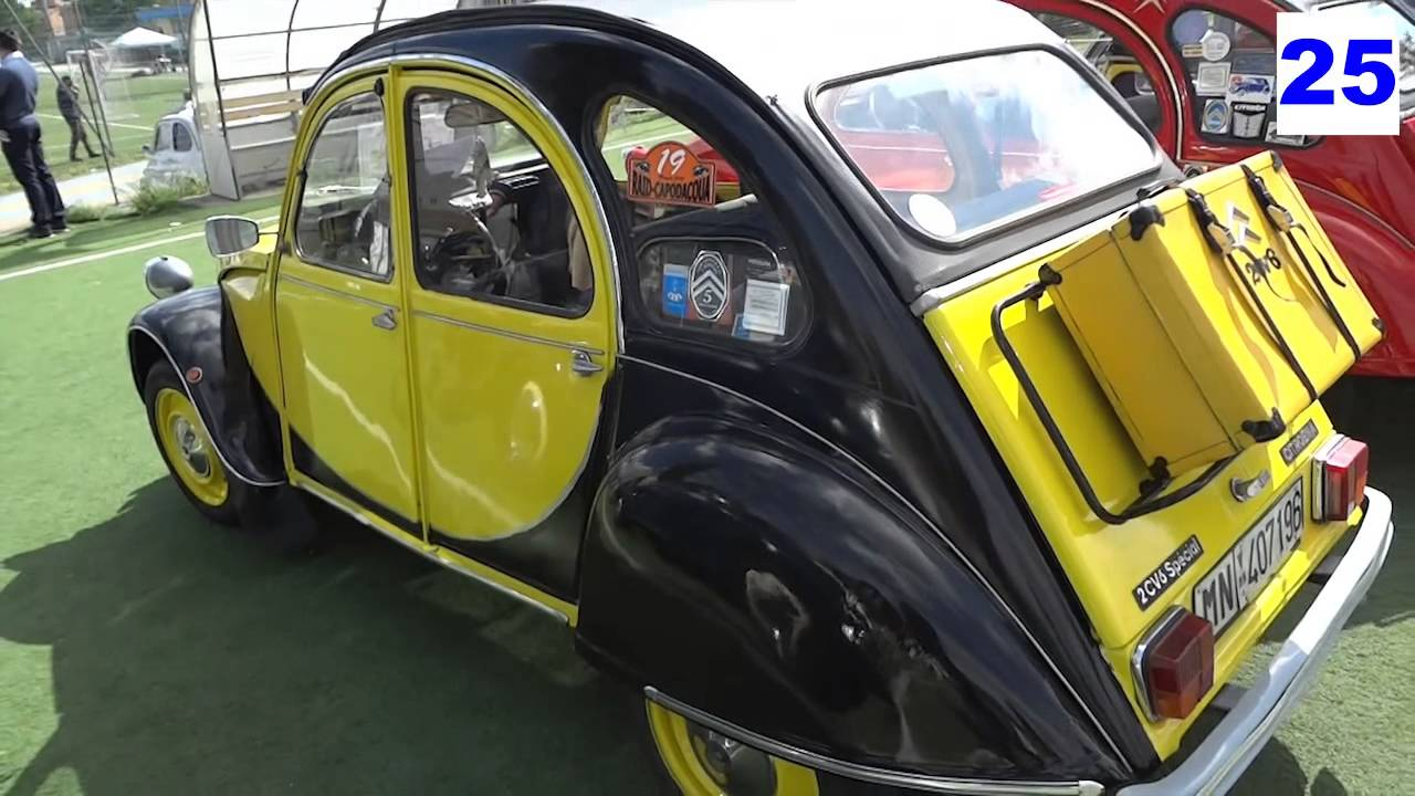 citroen 2 cv deux chevaux due cavalli youtube. Black Bedroom Furniture Sets. Home Design Ideas