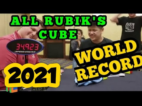 [NEW] Rubik's Cube World Records 2020 | All Speedcubing WRs WCA