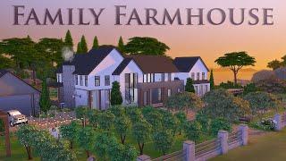Ферма мечты 🏡 Дом для ОЧЕНЬ большой семьи | Без СС | Строительство в Симс 4