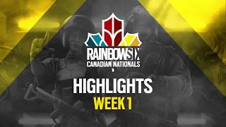 Rainbow Six Canadian Nationals: Online Circuit | Week 1 Highlights Reel | Ubisoft [NA] thumbnail