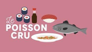 Cuisiner le poisson cru - Les Carnets de Julie