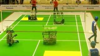 ABU Robocon 2015 Indonesia - Sri Lanka vs Malaysia