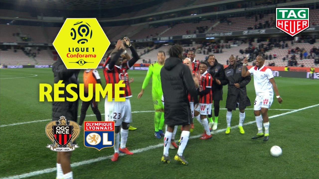 OGC Nice - Olympique Lyonnais ( 1-0 ) - Résumé - (OGCN - OL) / 2018-19 #1