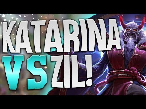 HOW TO WIN ANY MATCH UP!! KATARINA VS ZIL!! - League Of Legends thumbnail