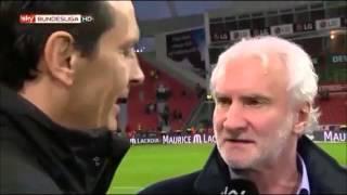 Rudi Völler rastet im Interview aus !!! [SKY/HD]