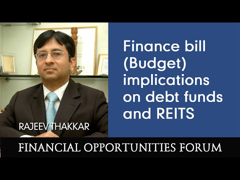 Finance bill (Budget) implications on debt funds and REITS