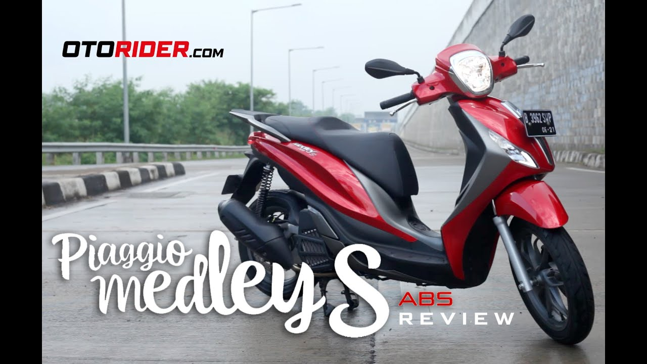 piaggio medley s 150 abs test ride review - indonesia | otorider