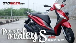 Piaggio Medley S 150 ABS Test Ride Review - Indonesia   OtoRider