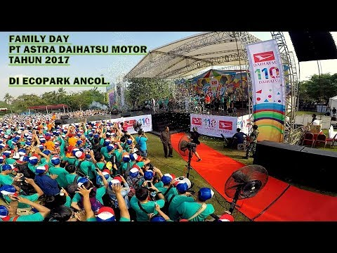 Family Day PT Astra Daihatsu Motor Tahun 2017 di Ecopark Ancol || Guest Star Via Vallen dan Armada