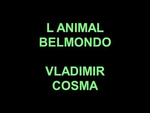 L ANIMAL 1977 BELMONDO - VLADIMIR COSMA