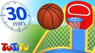 Игрушки для малышей | Баскетбол | 30 минут ТуТиТу Игрушки