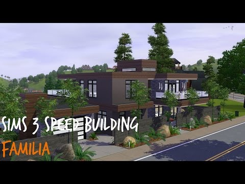 Sims 3 Speed Building: Familia