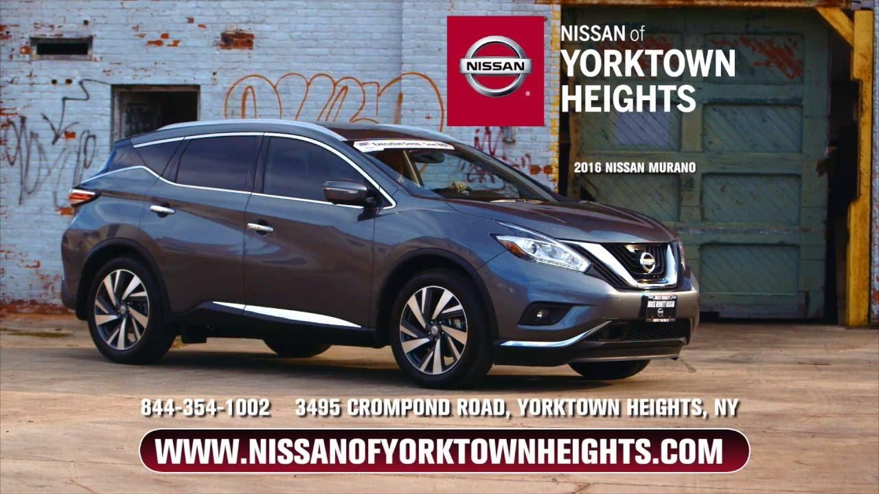 2016 Nissan Murano at Nissan of Yorktown Heights - YouTube