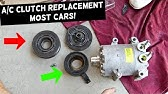 03-07 Accord AC Clutch and Pulley Replacement - YouTube