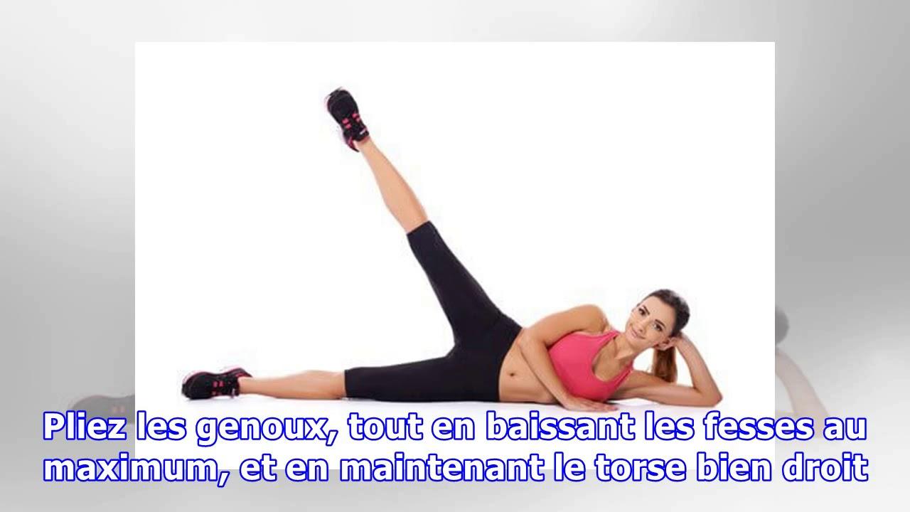 Exercices pour des cuisses fines et tonifiées - YouTube