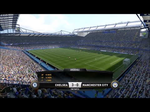 Demo Fifa 17 (PS4) | Chelsea-Manchester City 3-0