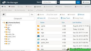 CPanel Tutorial : H๐w to Use File Manager to Upload Website Files