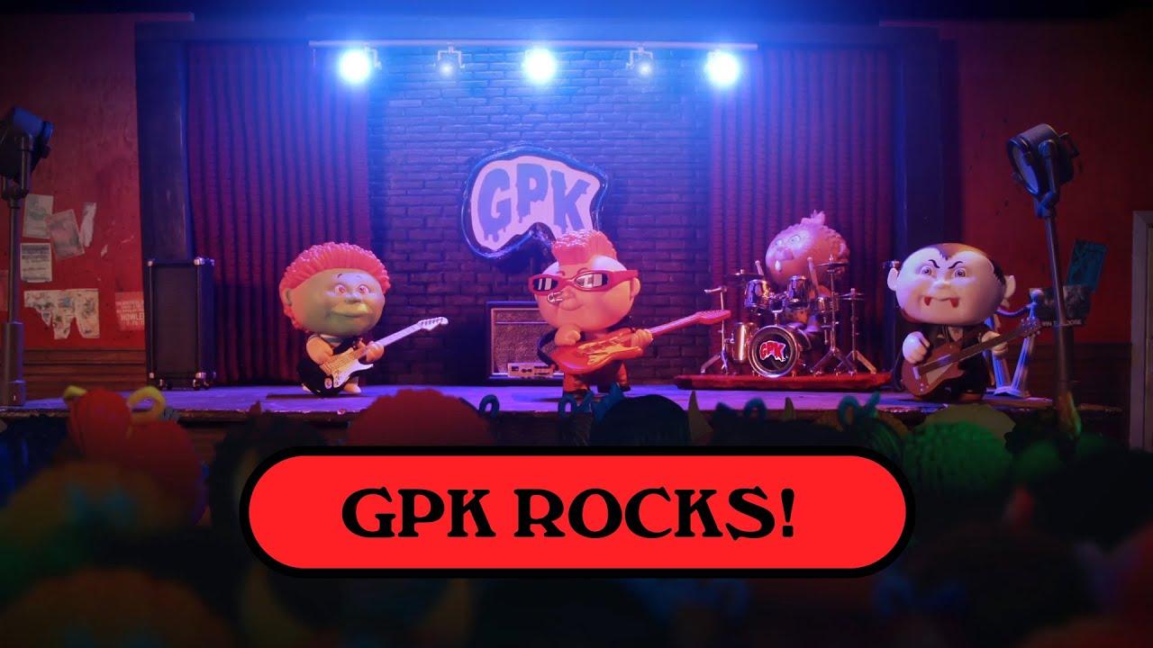 Garbage Pail Kids Gpk Rocks Youtube