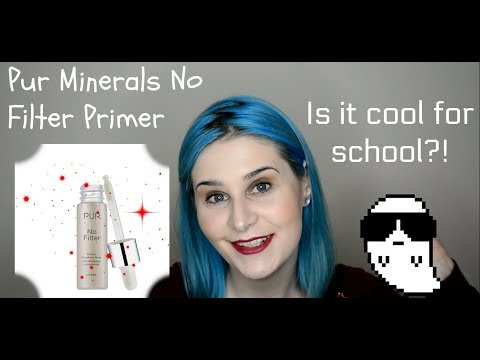 Foundation Talk Tuesday! Bhuebeblue PUR Minerals No Filter Primer/Bare It All Foundation