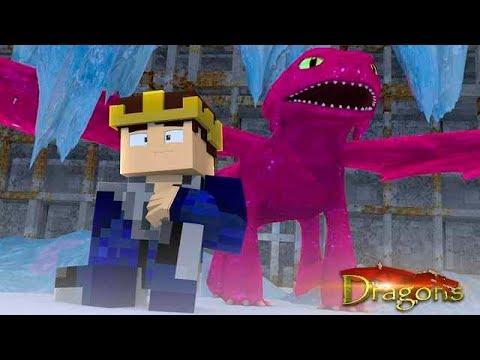 WE FOUND STARDUST THE NIGHTFURY - Minecraft Dragons S2 #15