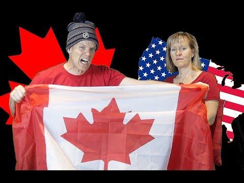 🇨🇦🇺🇸 Canada vs USA - The GREAT COMPARISON! 🇺🇸🇨🇦