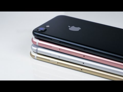 iPhone 7 Unboxing & Overview! Black, Gold, Silver, Rose Gold!