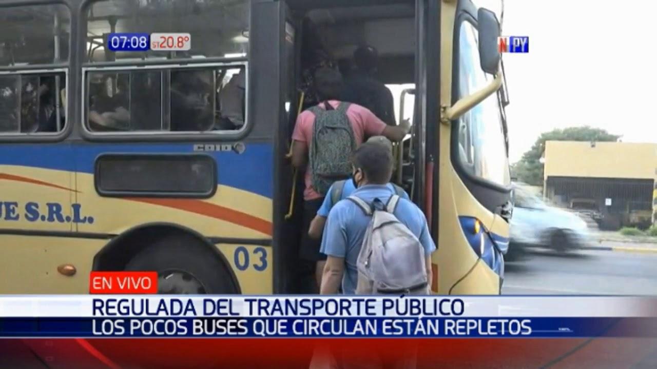Criminal regulada de buses en peor momento de la pandemia - Paraguay.com