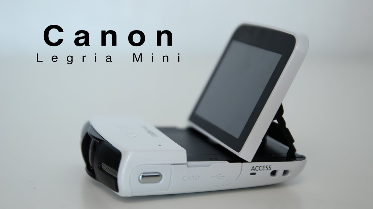 CANON LEGRIA MINI CAMCORDER DRIVERS WINDOWS XP